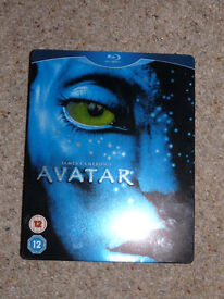 'Reduced' James Cameron's AVATAR Blu Ray Steelbook Tin (with DVD film) Blue Ray