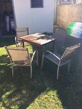 x5 piece outdoor setting. Lilyfield Leichhardt Area Preview