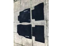 juke. set of car mats