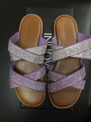 Ladies Inuovo Sparkle Sandals with Leather Padded Footbed UK 6 £79.99 NOW £29.99