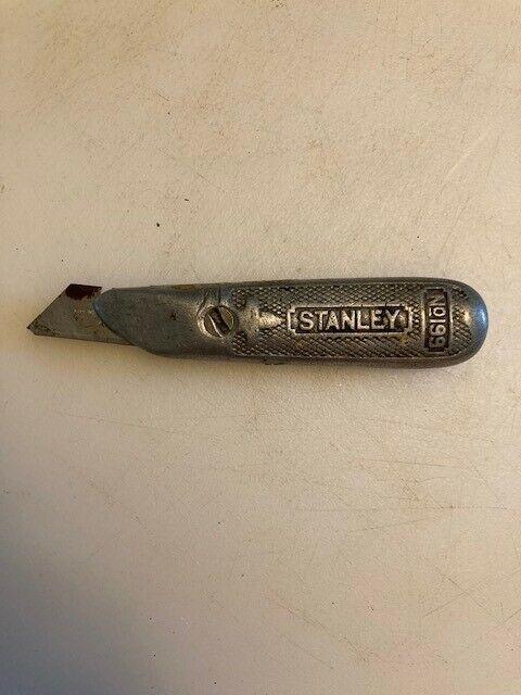 Vintage Stanley No. 199 Utility Knife w/ Extra Blades