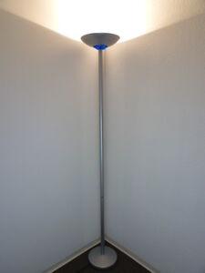 halogen deckenfluter lampen ebay. Black Bedroom Furniture Sets. Home Design Ideas