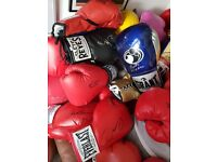 Signed Boxing Glove Collection ~ All with COA