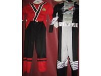 Power Ranger outfits age 5/6/7