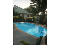 Detached three bedroom villa for rent, Ban Phe, Thailand