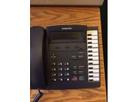 Samsung KPDCS DLI 12B Analogue Office Phone