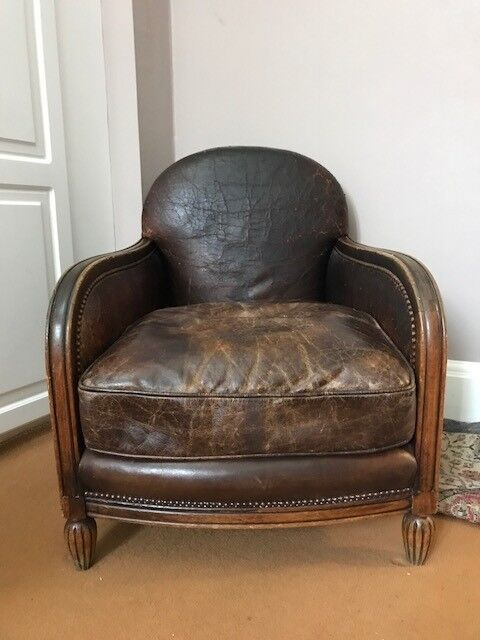 Antique Reading Chair - purchased from Lots road antiques - Antique Reading Chair - Purchased From Lots Road Antiques In