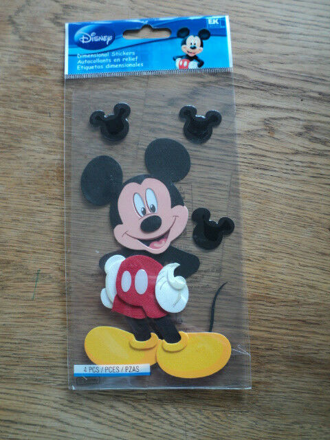 EK SUCCESS DISNEY LARGE MICKEY MOUSE STICKERS BNIP