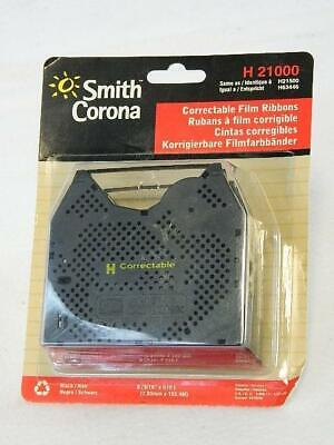 Smith Corona H21000 H63446 - 2 Pack Correctable Film Ribbon - Unopened Package