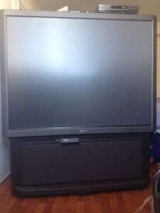 """REDUCED! 60"""" SONY TV & Compatible Own Rogers Cable Box Incl. $75"""