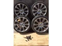 VW Volkswagen alloy wheels caravelle T4 T5 transporter 19 inch