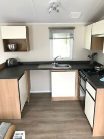 2018 Willerby Peppy, 2 + 3 bed on plot including decking + fees at Percy Wood Country Park