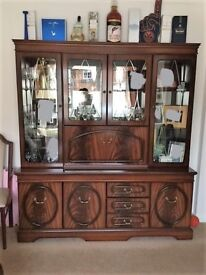 Antique display cabinet - excellent condition