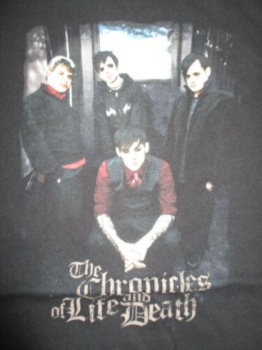 """2005 GOOD CHARLOTTE """"The Chronicles of Life and Death"""" Concert Tour (MD) T-Shirt"""