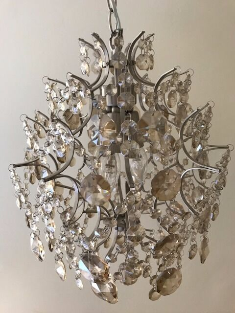 John lewis baroque crystal chandelier in teddington london john lewis baroque crystal chandelier mozeypictures Gallery