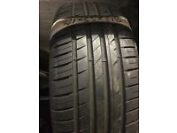 215/55/16 quality part worn tyre