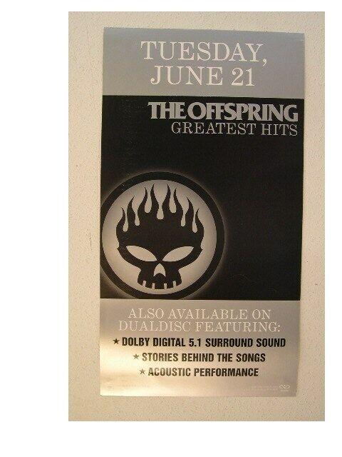 The Offspring Poster Burning Skull Promo