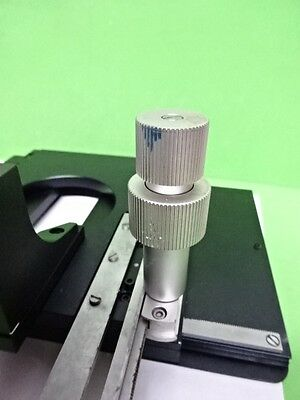 Microscope Part Leitz Germany Stage Specimen Table Micrometer Orthoplan B60