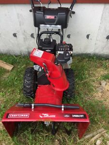 Craftsman E.Z.Steer blower like new