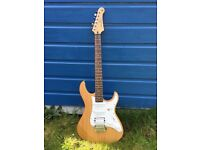 Yamaha pacifica 112J Electric Guitar, yellow natural satin, right handed