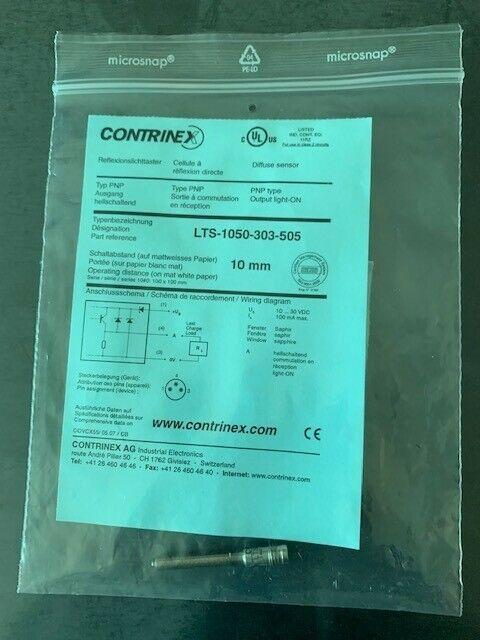 Contrinex LTS-1050-303-505 Micro Photoelectric Sensor