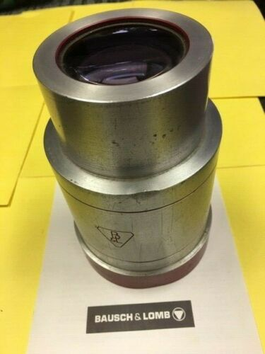 "70mm/35mm BAUSCH & LOMB 4 inch diameter Projection Lens 6"" focal length"