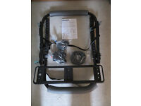 New Unused, Rear Mounting Universal 3 Bike Carrier, Includes Number Plate Mounting Bracket.