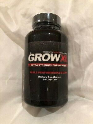 Grow XL Extra Strength Male Enhancement  60 tabs Exp Aug 28 2021 Enhancer 60 Tabs