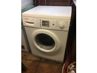 Reconditioned Bosch WAE24465GB 7kg load 1200 spin washing machine with 3 month money back guarantee