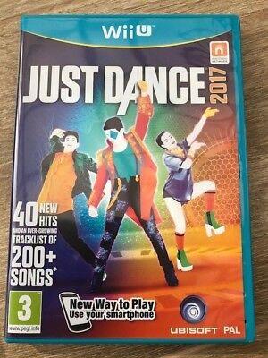 Jeu WII U NINTENDO JUST DANCE 2017