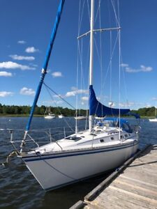 Sailboat 1984 Hunter 34,