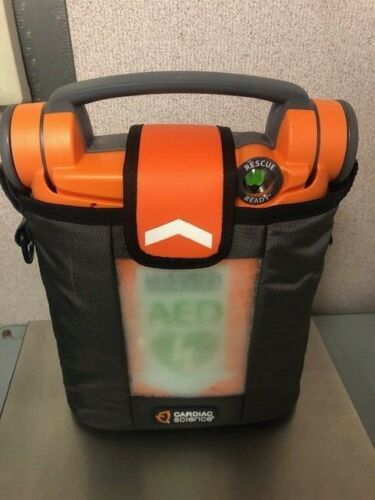 CARDIAC SCIENCE G5 AED power hearth