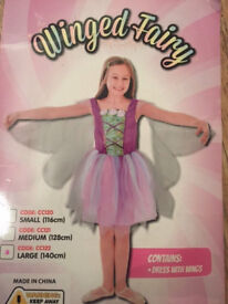 Childrens Fairy Fancy Dress Costume