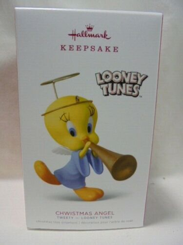 2018 Hallmark Keepsake Ornament  Chwistmas Angel Tweety Looney Tunes B37