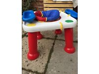 Free kids outdoors play table