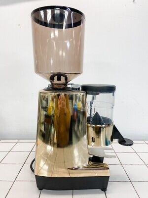 Eureka Espresso Coffee Grinder New Mdmca - Color Gold