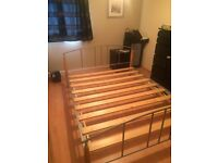 Kingsize bed frame - good condition