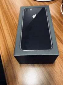 BRAND NEW & BOXED IPHONE8, SPACE GREY, 64GB on EE - £600
