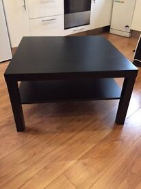 Brown/Black square coffee table (IKEA)
