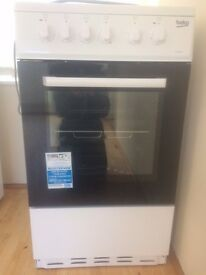 Beko Free Standing Cooker - Nearly New