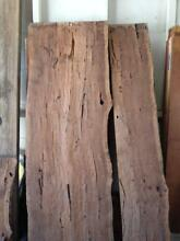 SLABS OF EUCALYPT TIMBER  FOR A RUSTIC OUTDOOR BENCH Springwood Blue Mountains Preview