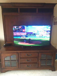 2 piece TV Stand/Entertainment and Media Storage Unit