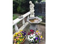 Fountain -excellent feature for your patio or garden