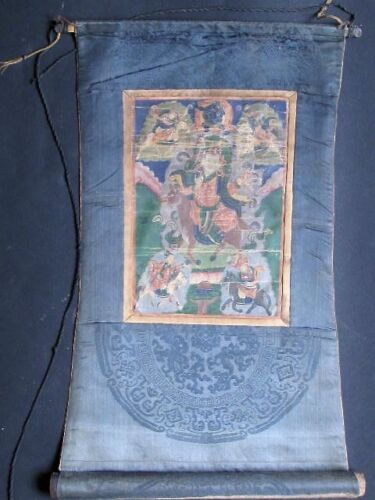 Antique Thangka from Mongolia 19th