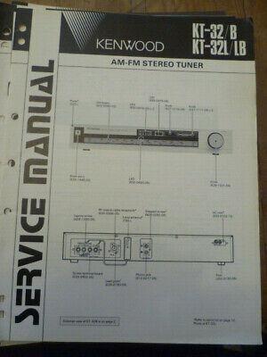 Kenwood Service Manual~KT-33//33L Tuner~Original Repair