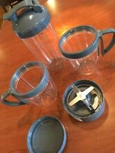 NutriBullet Pro Blade and cups with handles/lids South Perth South Perth Area Preview
