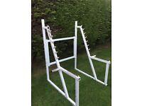 Quality commercial grade squat rack