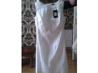 oasis white summer dress