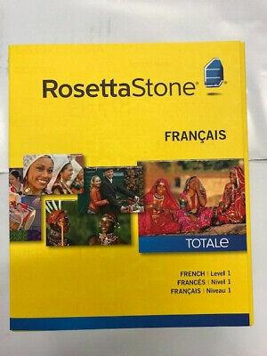 Rosetta Stone French Level 1 TOTALe version 4 for PC, Mac NEW! (Rosetta Stone Pc)