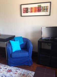 GLEBE - Inclusive...clean...completely furnished.